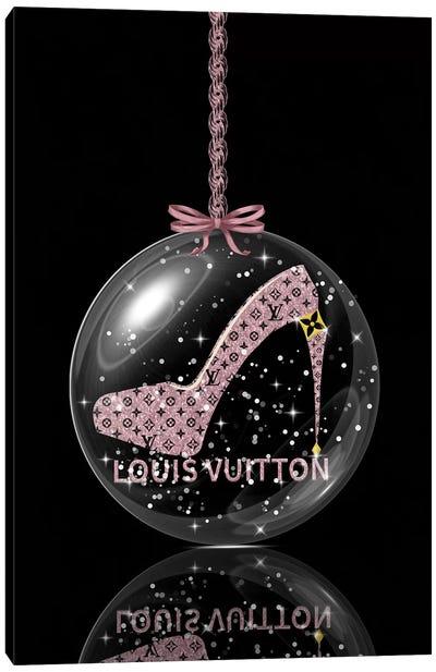 Oh, My Louis Glitter Ball II Canvas Art Print