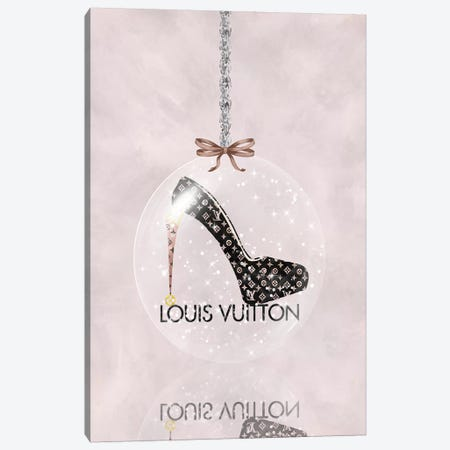Oh, My Louis Glitter Ball I Canvas Print #POB275} by Pomaikai Barron Canvas Art