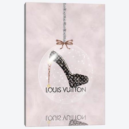 Oh, My Louis Glitter Ball I Canvas Print #POB275} by Pomaikai Barron Canvas Art