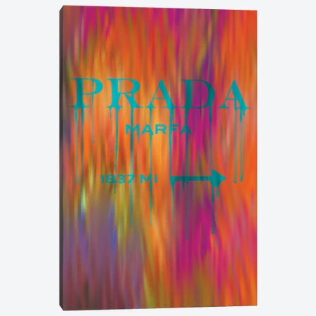 Fashion Drips Prada Masquerade Canvas Print #POB322} by Pomaikai Barron Art Print