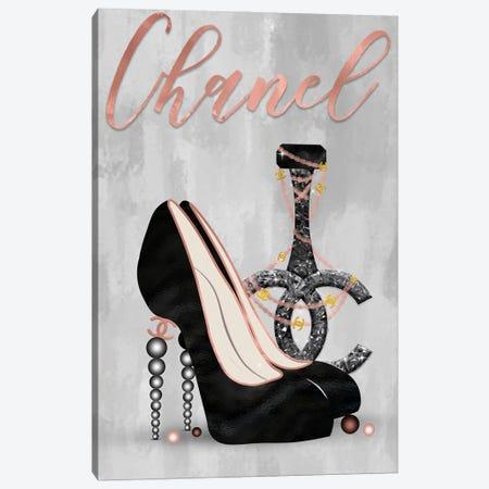 Late Nights With Chanel III Canvas Print #POB341} by Pomaikai Barron Canvas Print
