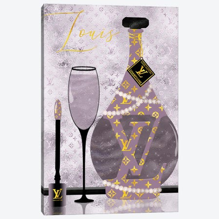Late Nights With Louis Iv Canvas Print #POB347} by Pomaikai Barron Canvas Wall Art