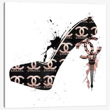 CC High Heels Fashion II Canvas Print #POB34} by Pomaikai Barron Canvas Print