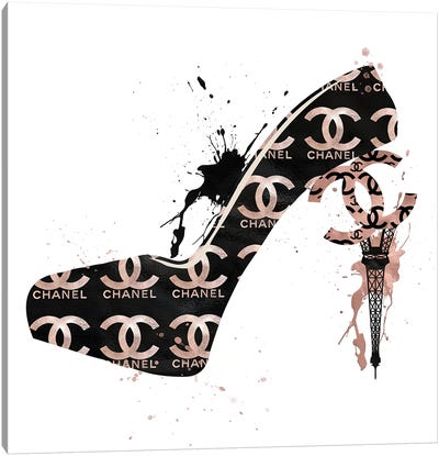 CC High Heels Fashion II Canvas Art Print