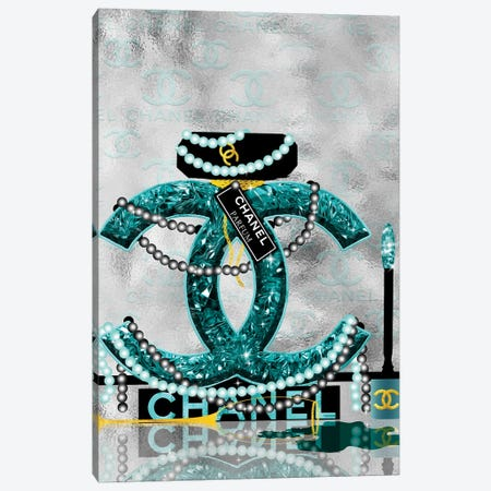 Late Nights With Chanel I Canvas Print #POB353} by Pomaikai Barron Canvas Wall Art