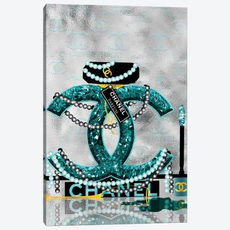 Late Nights With Chanel I Canvas Print #POB353} by Pomaikai Barron Canvas Wall Art