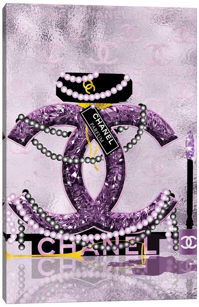 Late Nights With Chanel II Canvas Art Print