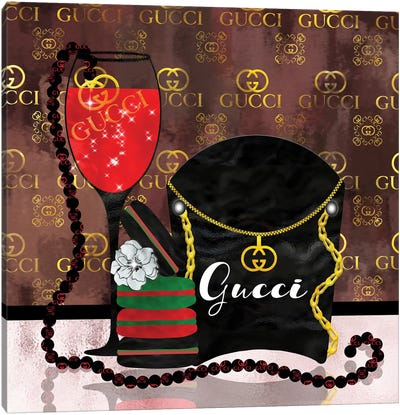 Spoiled By Gucci Canvas Art Print