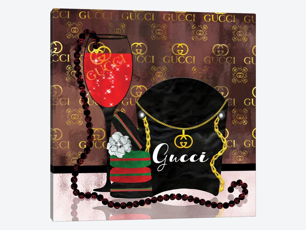 Spoiled By Gucci by Pomaikai Barron 1-piece Canvas Art