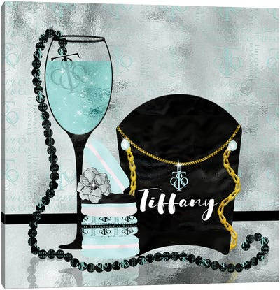 Spoiled By Tiffany Canvas Art Print