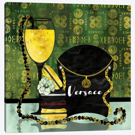 Spoiled By Versace Canvas Print #POB372} by Pomaikai Barron Canvas Artwork