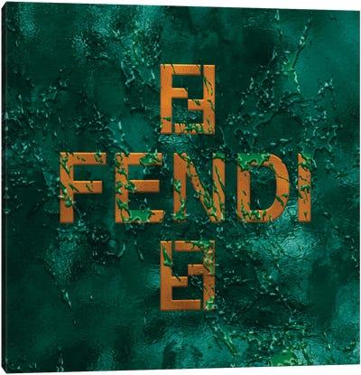 Emerald Frost IV Canvas Art Print