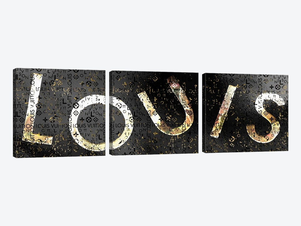 LOUIS Stripped by Pomaikai Barron 3-piece Art Print