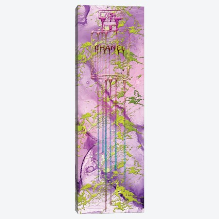 Let It Drip Pink Perfume Bottle Canvas Print #POB391} by Pomaikai Barron Canvas Art