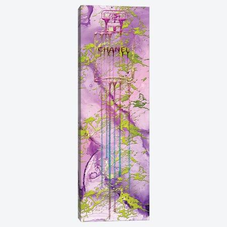 Let It Drip Pink Perfume Bottle Canvas Print #POB391} by Pomaikai Barron Canvas Art