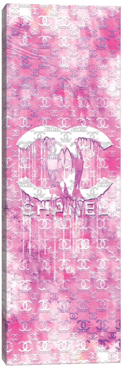 I Do Pink Chanel Canvas Art Print
