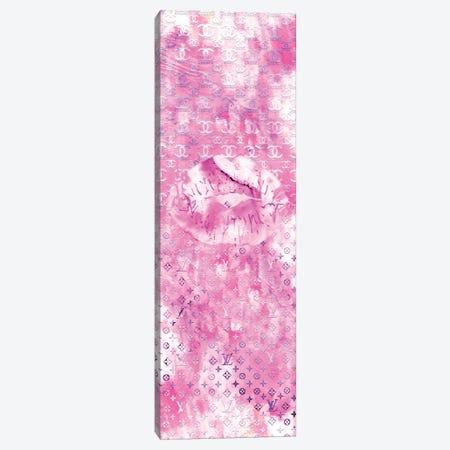 I Do Pink Lips Canvas Print #POB406} by Pomaikai Barron Art Print