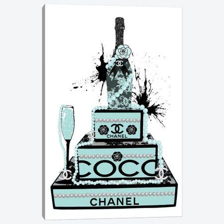 Champagne And Pearls Canvas Print #POB40} by Pomaikai Barron Art Print