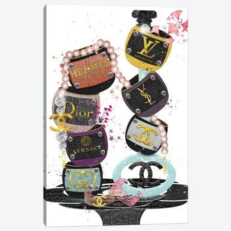 Best Of The Best Fashion Bangles Canvas Print #POB4} by Pomaikai Barron Canvas Artwork