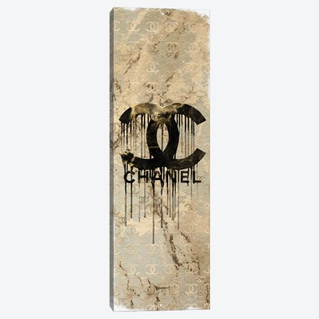 I Do Creme CC Canvas Print #POB588} by Pomaikai Barron Art Print