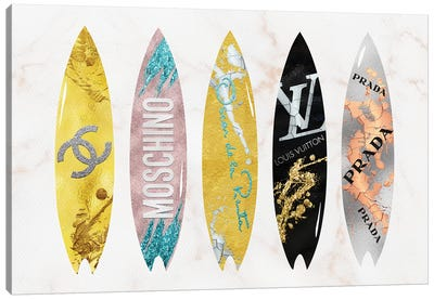 Best Of The Best Fashion Surfboards Canvas Art Print