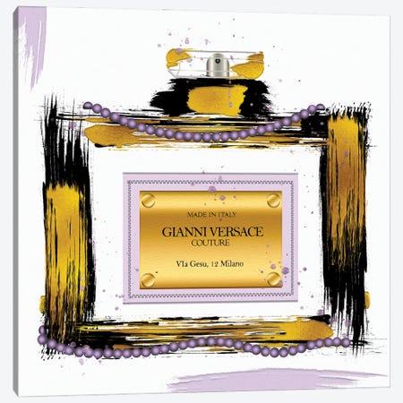 Gianni Couture Perfume Bottle Purple Canvas Print #POB636} by Pomaikai Barron Canvas Art