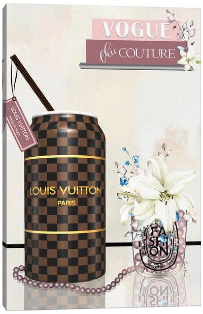 Pop Couture Louis Paris Long Canvas Art Print