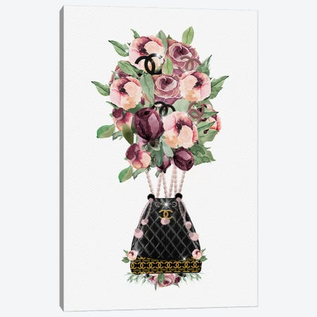 Fashion Hot Air Balloon Bouquet Canvas Print #POB75} by Pomaikai Barron Canvas Print