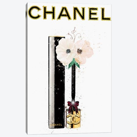 Gold Chains And Anemones Canvas Print #POB82} by Pomaikai Barron Canvas Art Print