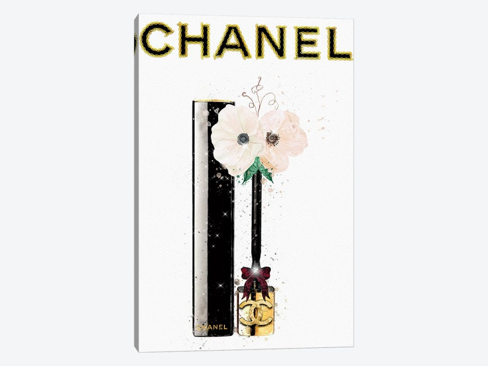Gold Chains And Anemones by Pomaikai Barron 1-piece Canvas Art