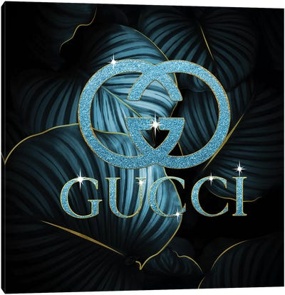 Gucci Ice Bling Tropical Canvas Art Print