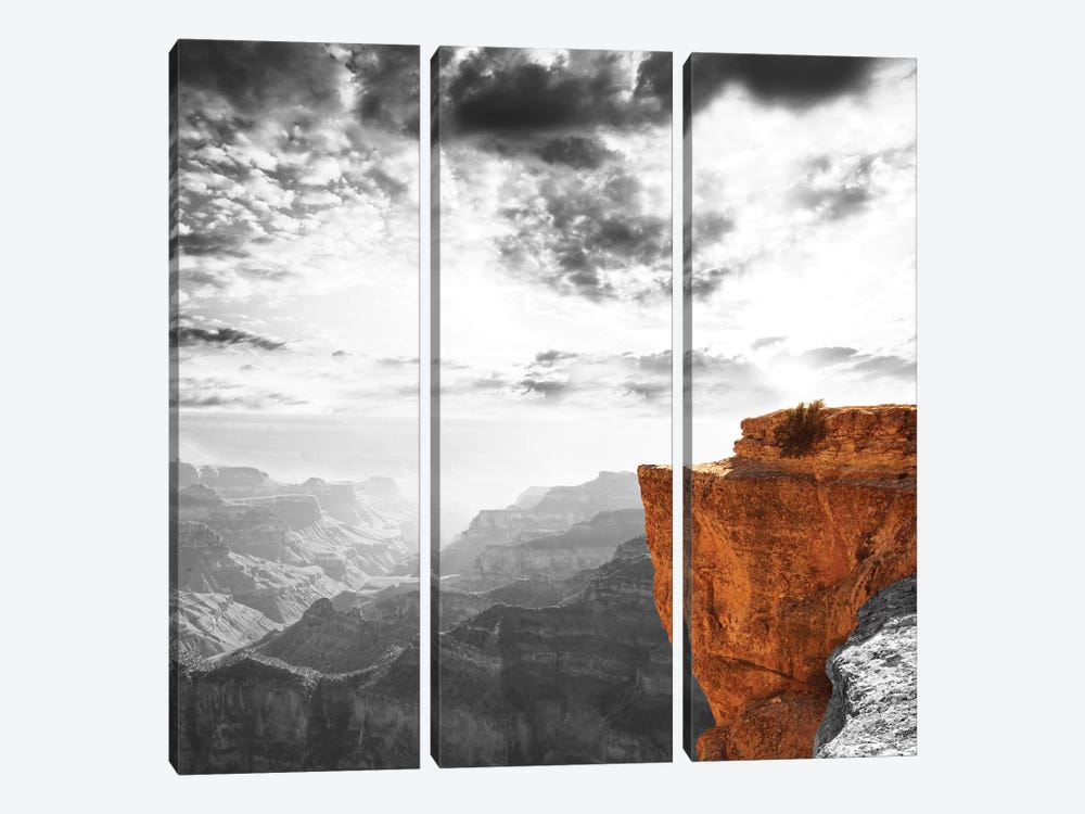 Silent Structure by 5by5collective 3-piece Canvas Artwork