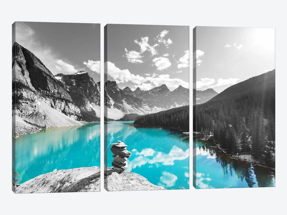 Uplifting Reflection by 5by5collective 3-piece Canvas Wall Art