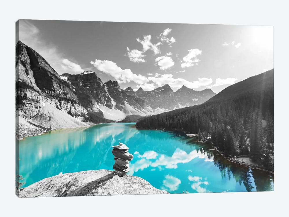 Uplifting Reflection by 5by5collective 1-piece Canvas Artwork