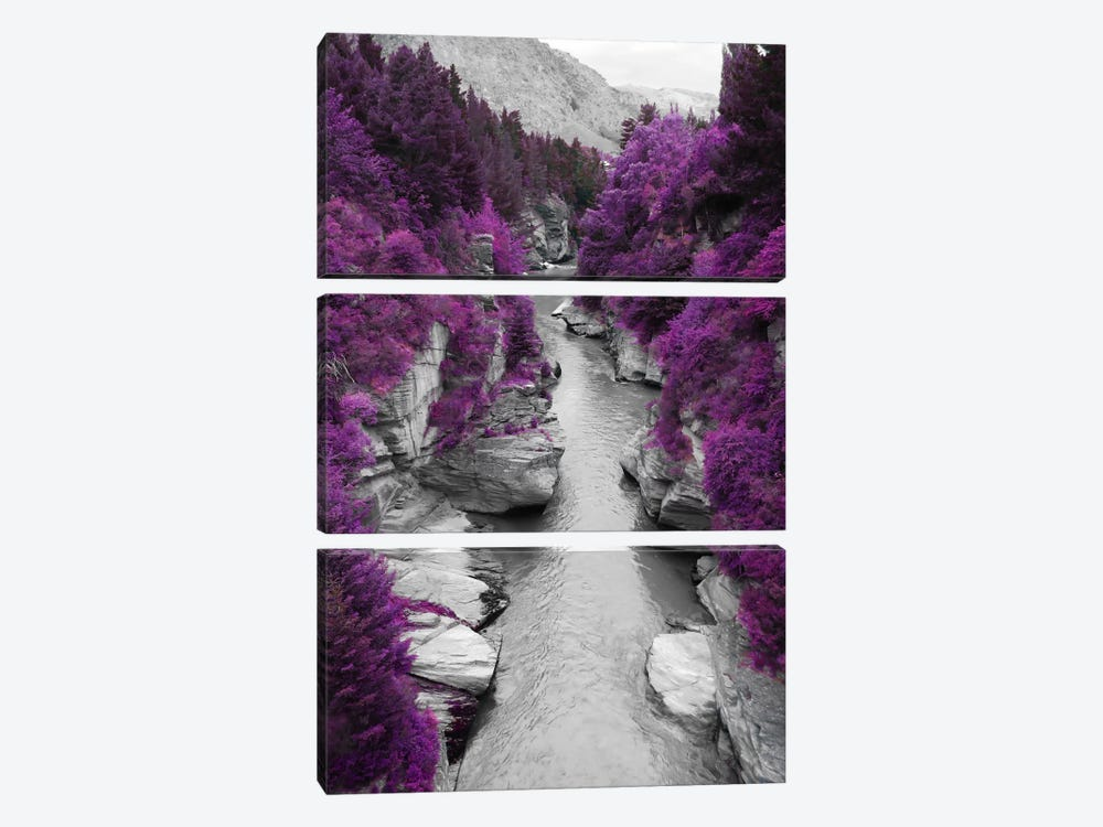 Vanishing Pigment by 5by5collective 3-piece Art Print