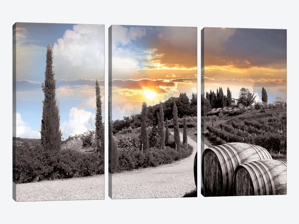 Brightest Surface 3-piece Canvas Art Print