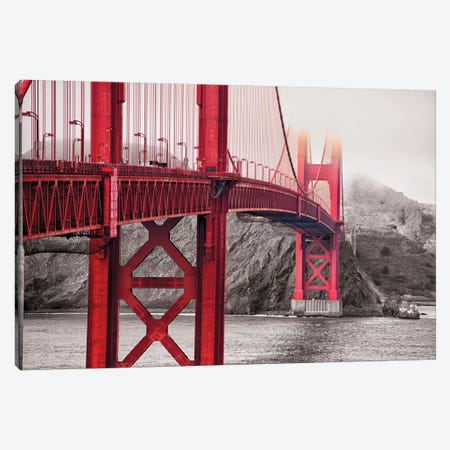 Indestructible Bridge Canvas Print #POC8} by 5by5collective Canvas Artwork