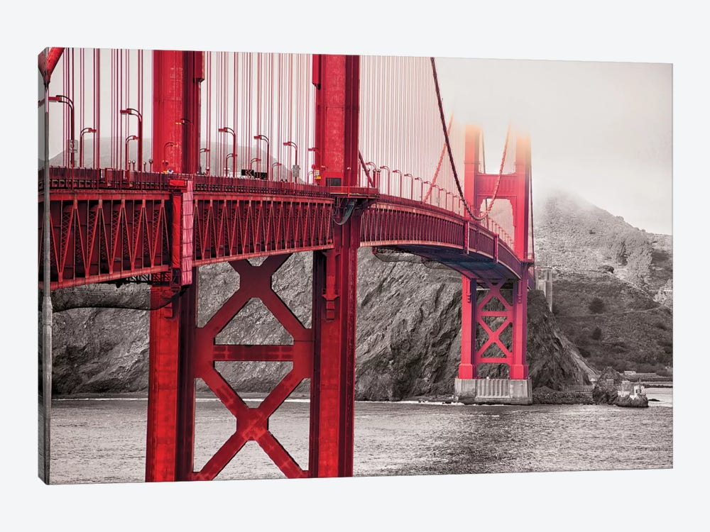 Indestructible Bridge by 5by5collective 1-piece Canvas Artwork