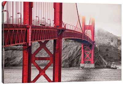 Indestructible Bridge Canvas Art Print