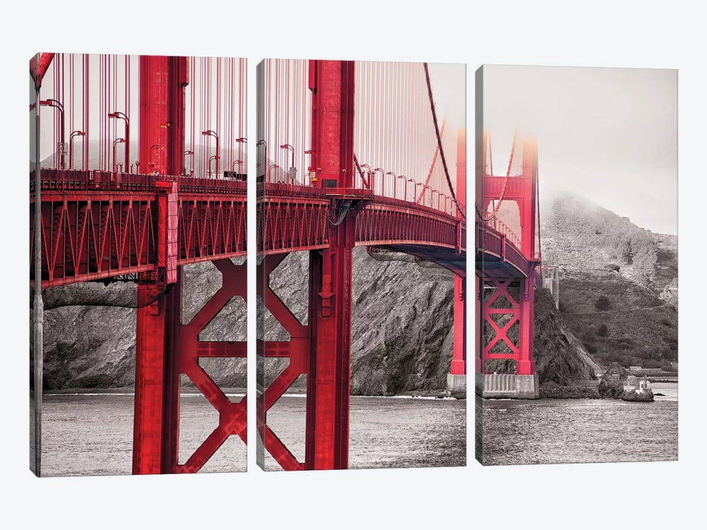Indestructible Bridge by 5by5collective 3-piece Canvas Art