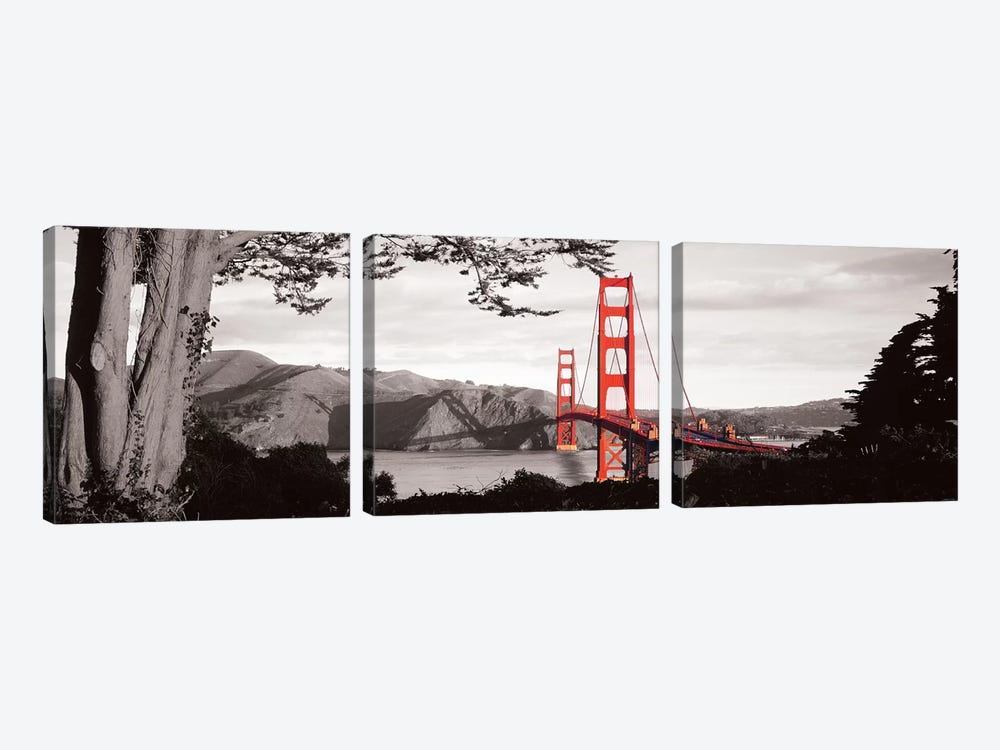Objective View by 5by5collective 3-piece Canvas Print