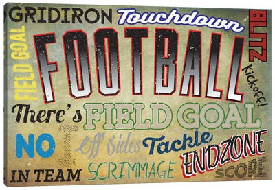 Sportsball Canvas Print #POG11