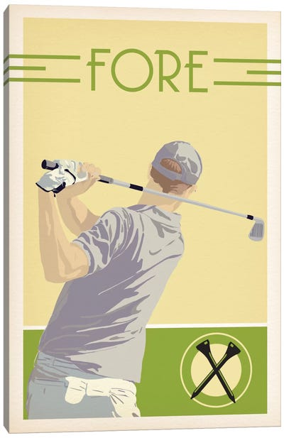 Fore Canvas Art Print