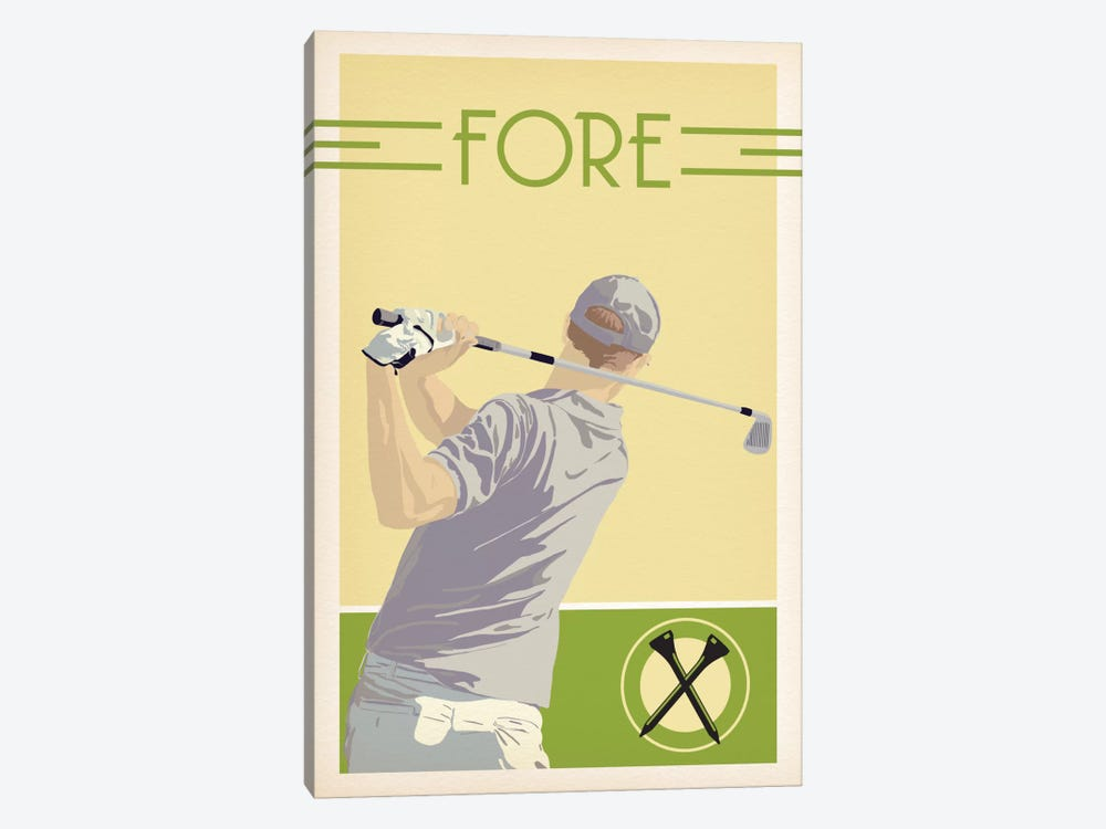 Fore by 5by5collective 1-piece Canvas Artwork