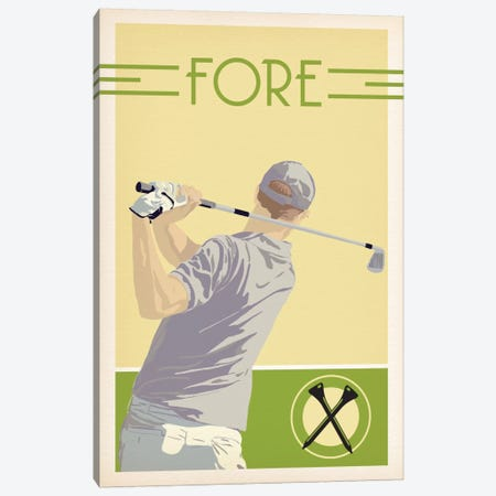 Fore Canvas Print #POG15} by 5by5collective Canvas Wall Art