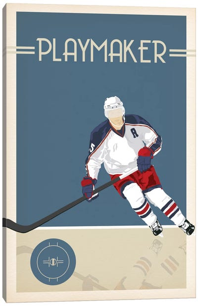 Playmaker Canvas Art Print