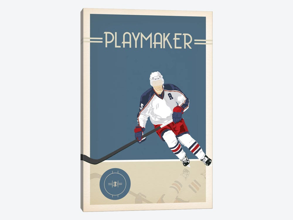 Playmaker by 5by5collective 1-piece Canvas Art