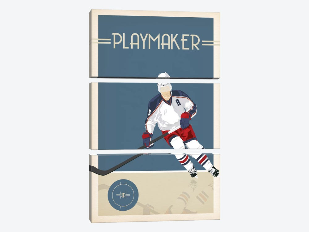 Playmaker by 5by5collective 3-piece Canvas Artwork