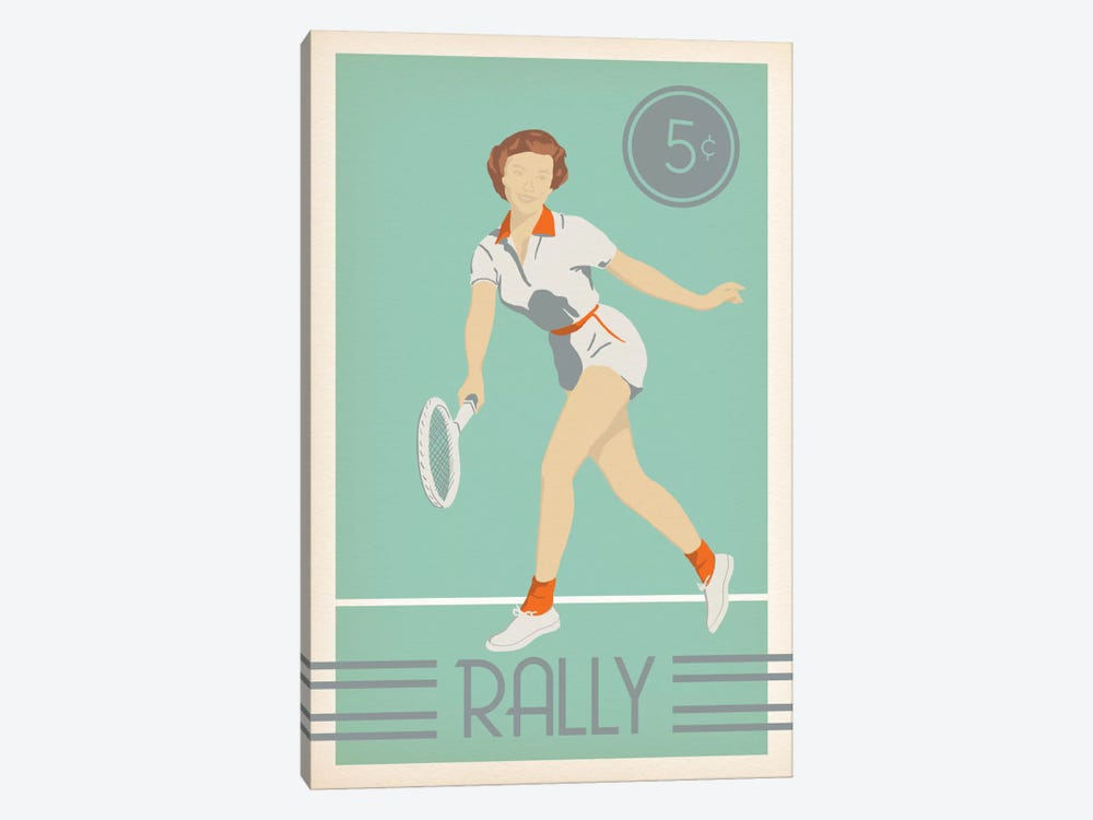 Rally by 5by5collective 1-piece Canvas Art