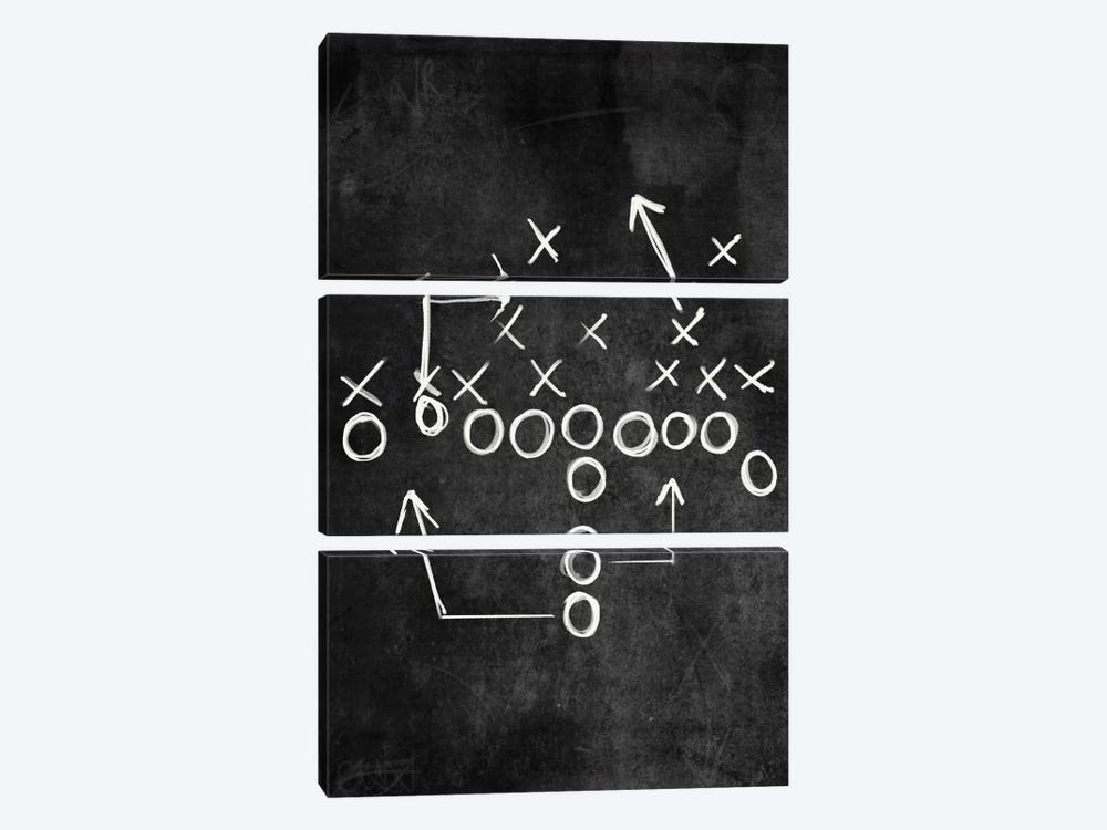 Strong Side Flank by 5by5collective 3-piece Canvas Wall Art